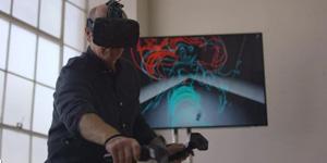 Legendary Disney Animator Glen Keane draws characters in Virtual Reality