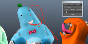 Animation Tool for Onion Skinning in Maya - bhGhost Updates