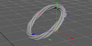 Creating Dynamic Rope in Maya 2016 Tutorial