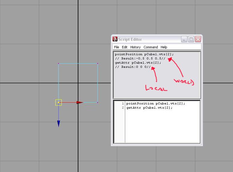 position of a vertex - Simply Maya User Community