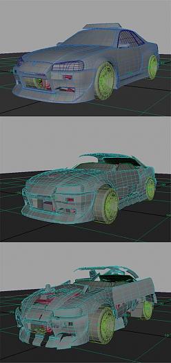 Nissan Skyline R34 Autobot Simply Maya User Community