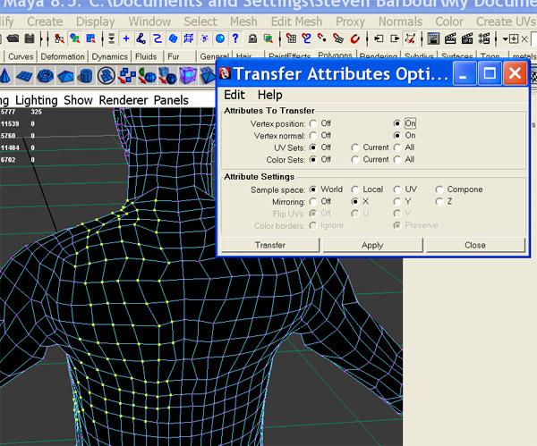 Making a model symmetrical again - possible? - Simply Maya