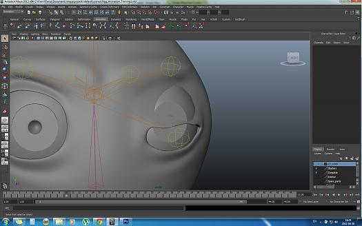 Joint rigging eyelids - Simply Maya User Community