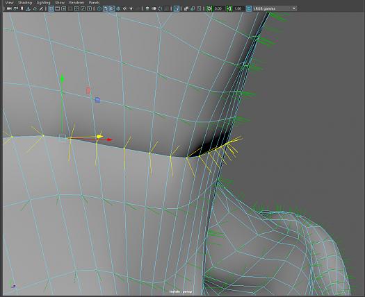 Make vertex normals point in same direction - Simply Maya