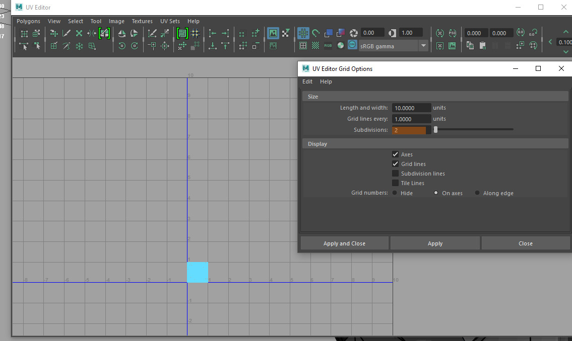 How to set UV grid to 4k - Simply Maya User Community