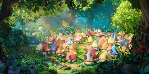Behind the scenes of Smurfs: The Lost Village