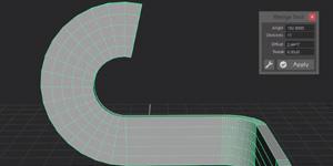 New free wedge tool for Maya