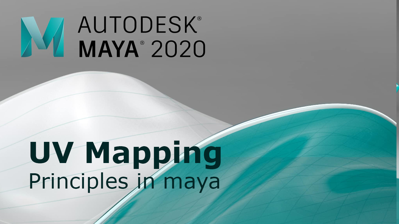 Principles of UV mapping in Maya 2020