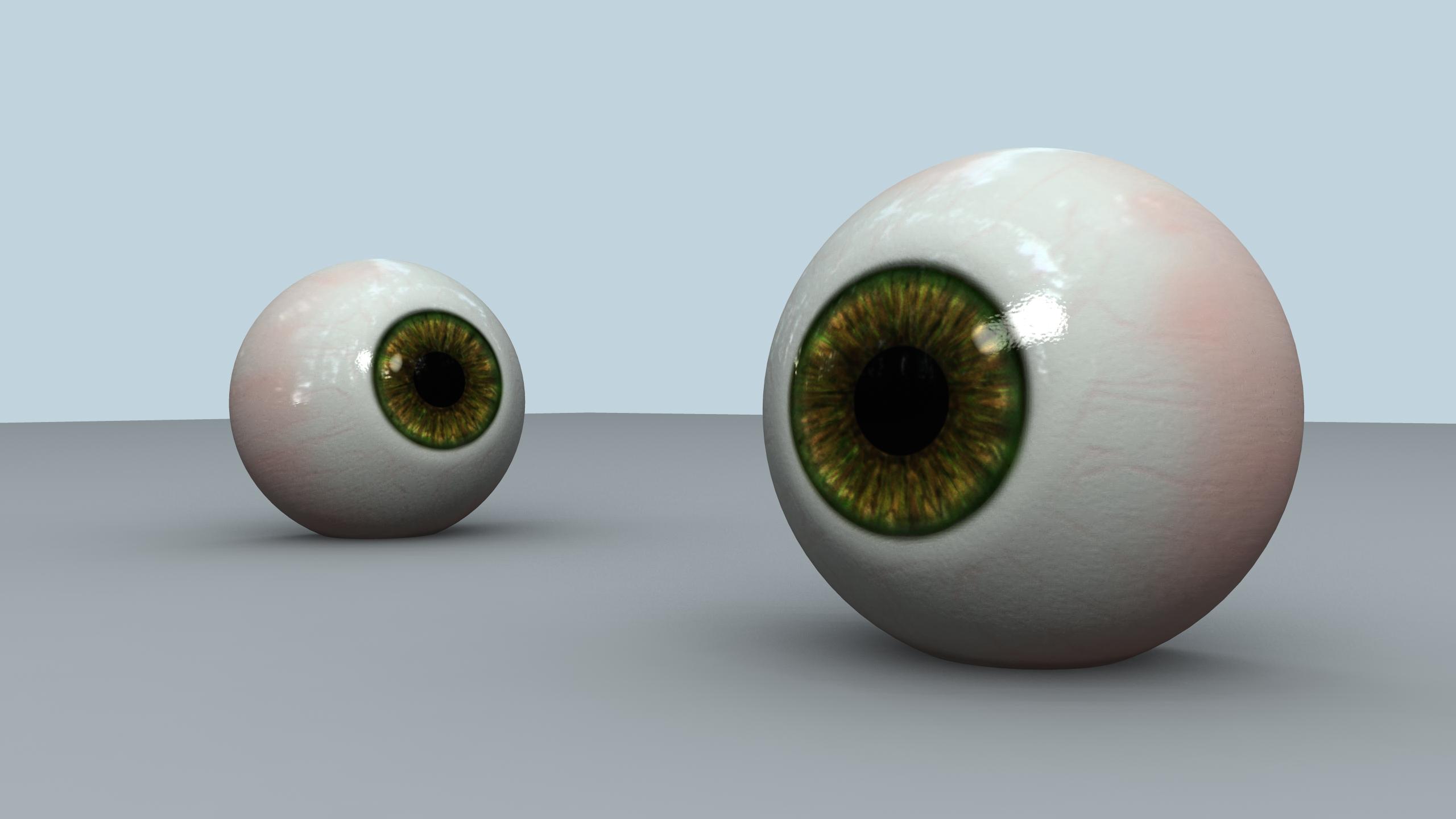 Creating Realistic Eyes in Maya 2011 Maya Tutorial in Shading and Texturing - Simply Maya 3D