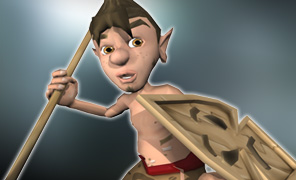 Maya Tutorial: Low Poly Character Study - Tribal Warrior