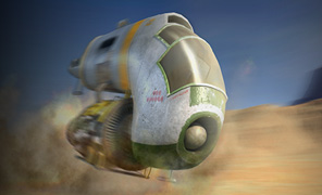 Maya Tutorial: The Complete Sand Speeder Project