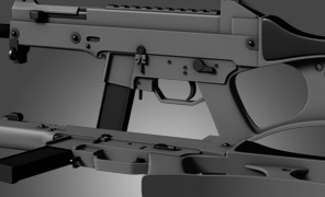 Maya Tutorial: Hard Surface - Heckler & Koch USC Rifle