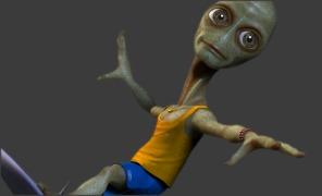Maya Tutorial: Maya ZBrush Integration - Surfing with the Alien v
