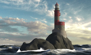 Maya Tutorial: Environment Sculpting - The Lighthouse Modeling