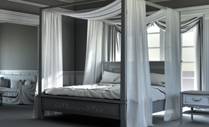 Maya Tutorial: VRay 3 Shading, Lighting and Rendering the Bedroom