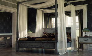 Maya Tutorial: Shading, Lighting and Rendering the Bedroom in MR