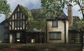 Maya Tutorial: Spach-Alspaugh House and Environment Courseware