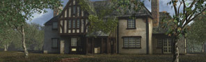 Maya Training Lighting and Rendering - Spach-Alspaugh House and Environment Courseware