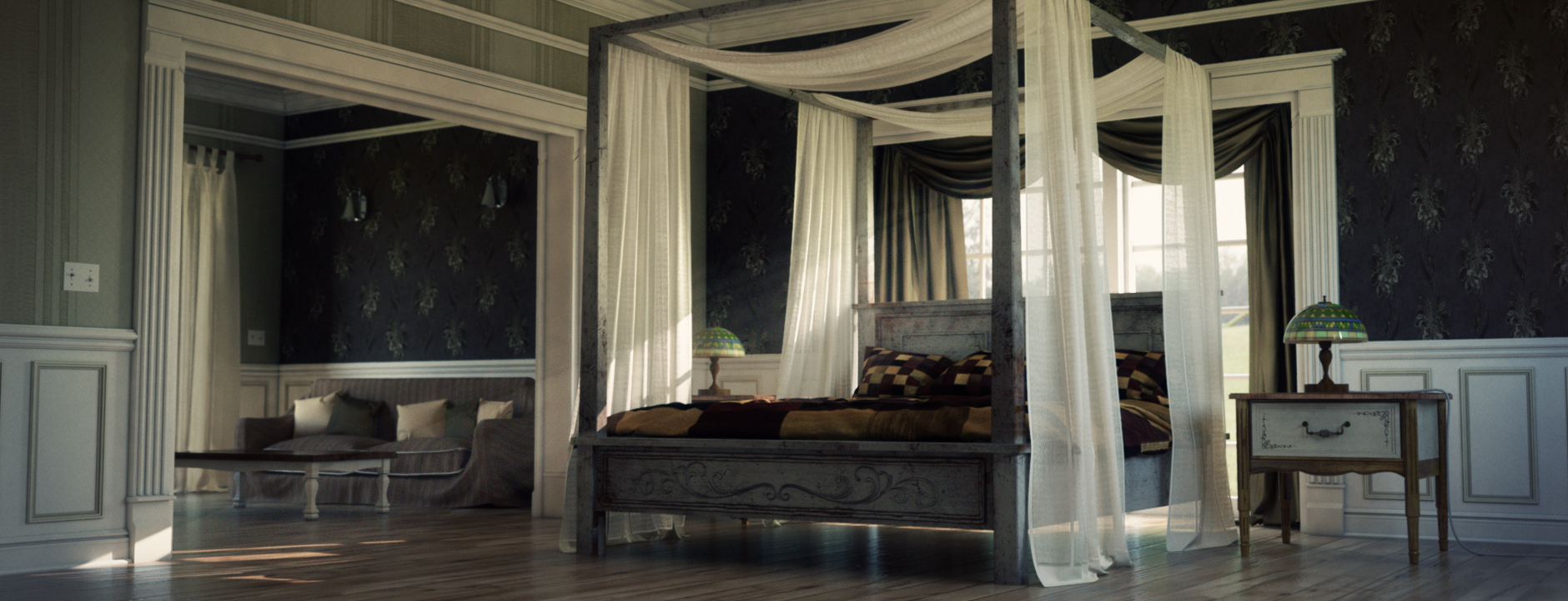 Shading lighting and rendering the bedroom in mental ray simply simplymaya forums baditri Gallery